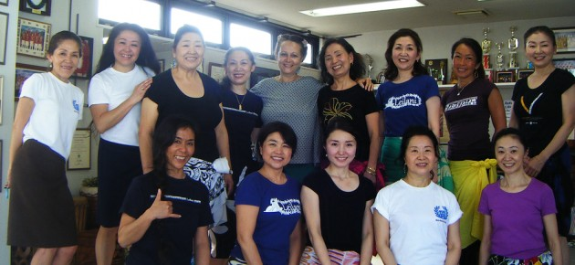 Workshops in Chigasaki. March 2013